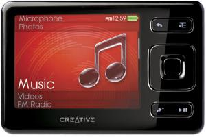 "Odtwarzacz MP3 CREATIVE ZEN - 4 GB, LCD 3.5"", FM"